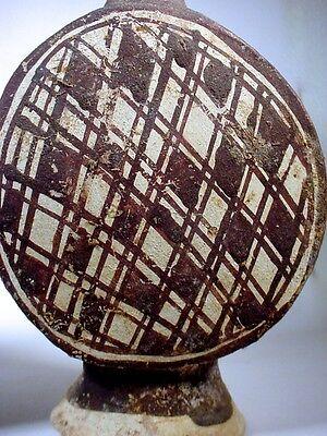 Pre-Columbian CHANCAY TWO-DRUM FIGURAL VESSEL PERU COA 6