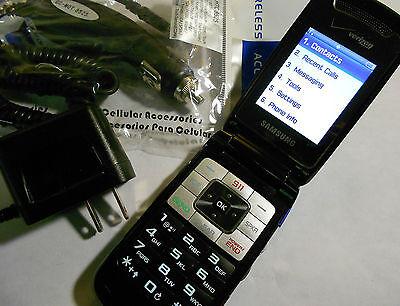 GOOD!!! SAMSUNG KNACK SCH-u310 Speaker SIMPLE VoiceDial Flip VERIZON Cell  Phone