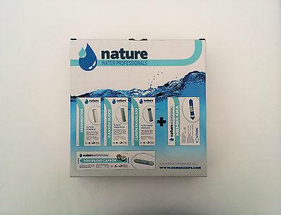 Pack 4 Filtros osmosis inversa universales y membrana Vontron 4