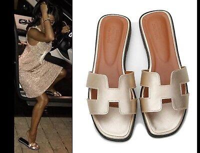 Nouveau Femmes Oran Sandales Plates Pantoufles Femmes Chaussures Sandales /*/ 4
