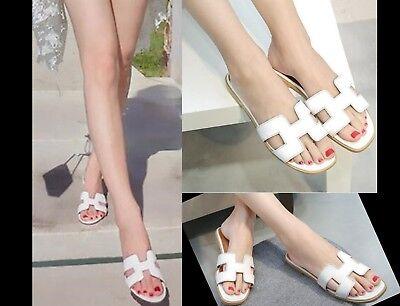 Nouveau Femmes Oran Sandales Plates Pantoufles Femmes Chaussures Sandales /*/ 2