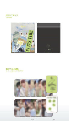 ONEUS IN ITS TIME 1st Single Album CD+POSTER+Photo Book+3p Card+F.Poster+Sticker 11