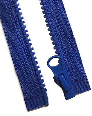 Reißverschluss grob 5mm teilbar - Kunststoff 20 25 30 35 40 50 60 70 cm - Zipper 3