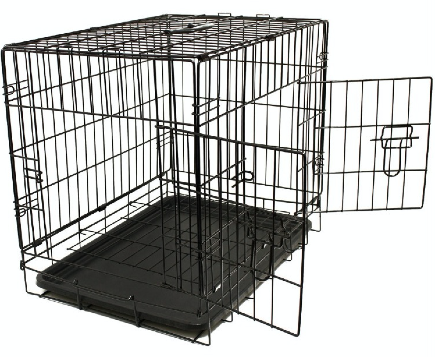 Folding Metal Dog Cage By Mr Barker Puppy Training Crates 5 sizes 24-42 Inch 5