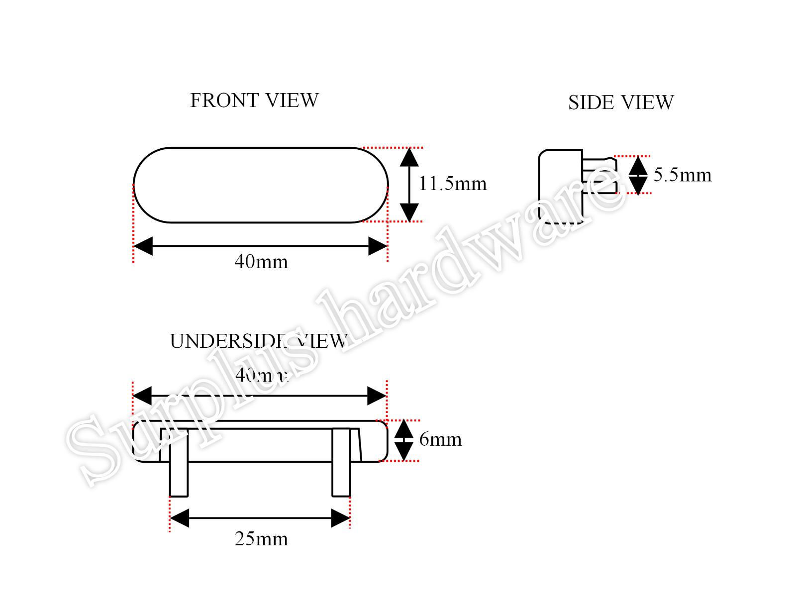 weep hole drainage covers for Upvc windows 10 x uPVC Window Drain Caps
