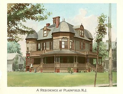Plainfield, N. J.  -  Scientific American Architects and Builders Edition - 1892 2