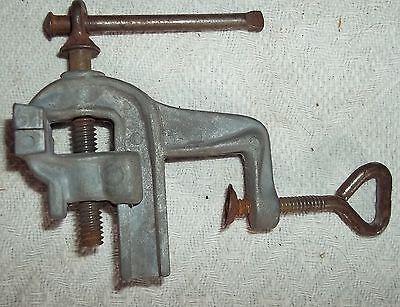 Raro Pequeño Tornillo de banco 7cm AUS kaufmannsladen-metall