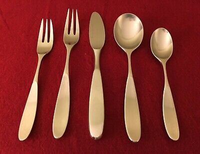 Stainless 188 Serving Spoon Magnum Pattern Japan. LAUFFER