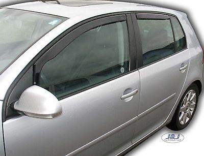 SET 4 DEFLETTORI ARIA  ANTITURBO per VW GOLF V  5 PORTE 2004 - 2008 2
