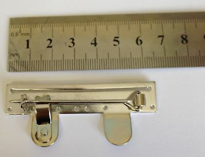 Full Size Medal Mounting Brooch Bars 1 - 2 - 3 - 4 - 5 - 6 - Spaces. Brand New