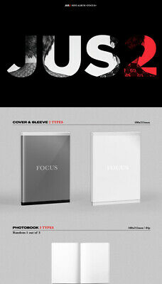 GOT7 JUS2 [FOCUS] Mini Album CD+POSTER+Book+Lyrics+2p Card+Pre-Order+GIFT SEALED 6