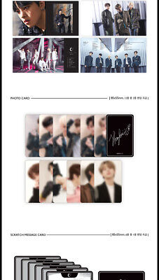 ONEUS [LIGHT US] 1st Mini Album CD+Photo Book+Photo Card+Message+Sticker SEALED 7