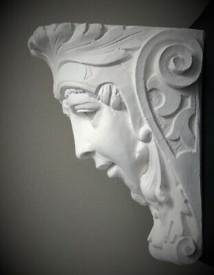 Lady Soldier Wall Corbel Bracket Shelf Architectural Accent Home Decor 2