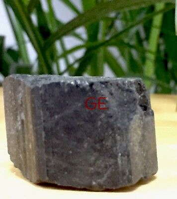 Rough Black Tourmaline Mineral Specimen Raw Gemstone Crystal Reiki Metaphysical. 10