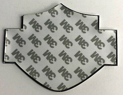 Harley-Davidson Bar & Shield Raised Aluminum Bendable Sticker Decal Emblem NEW 3