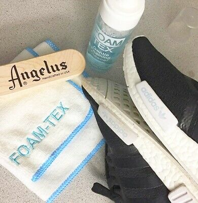 Foam-Tex fOaMiNg Cleaner KiT suede leather sneakers shoes boots foamtex ANGELUS 3
