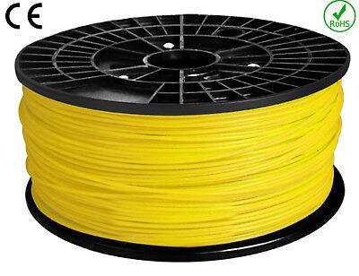 FIL - FILAMENT imprimante 3D PLA  - ABS  1.75mm  1KG   NORME CE-ROHS 6