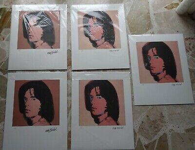 Parentesigrafica presenta: ANDY WARHOL - Mick Jagger portraits CMOA (A2020/L004) 2