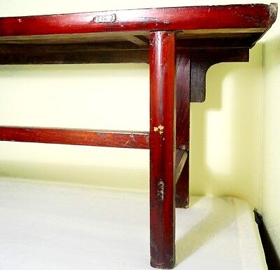 Antique Chinese Ming Scholar Daybed/Bench (2633), Circa 1800-1849 8