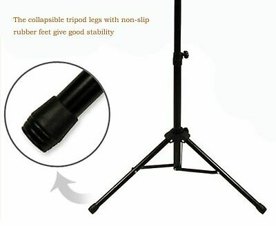 Heavy Duty Metal Foldable Music Stand Holder Tripod Orchestral Conductor Sheet 7