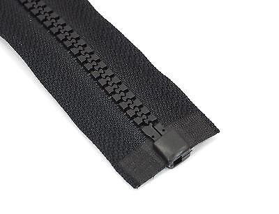 Reißverschluss 5mm grob teilbar - Kunststoff 40 45 50 55 60 65 70 75 80 85 90 cm