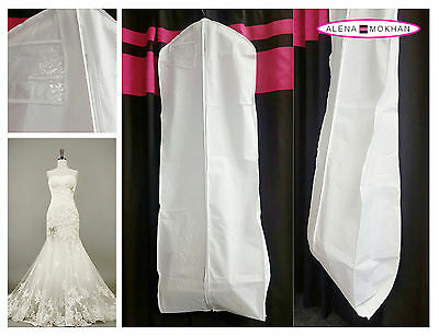 Breathable Wedding Gown Prom Dress Travel Garment Bag Extra Long - U Pick Color
