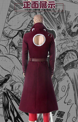 Hot The Seven Deadly Sins Anime Harlequin King Cosplay Costume Unisex GG.653