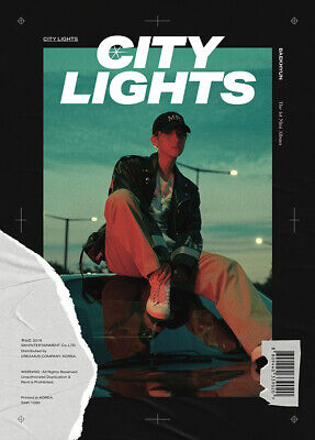 EXO BAEKHYUN CITY LIGHTS 1st Mini Album CD+POSTER+PBook+Lyric+Card+F.Poster+GIFT 3