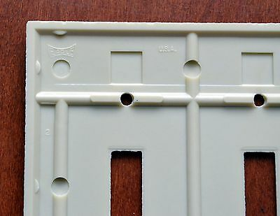 BULK Box of 10 Two Gang Eagle Bakelite Toggle Ivory Wall Plates 139V-Box Vintage 5