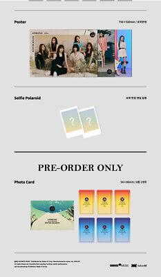GFRIEND FEVER SEASON 7th Mini Album CD+POSTER+Book+3Card+2Sticker+Pre-Order+GIFT 9