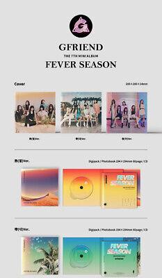 GFRIEND FEVER SEASON 7th Mini Album CD+POSTER+Book+3Card+2Sticker+Pre-Order+GIFT 7