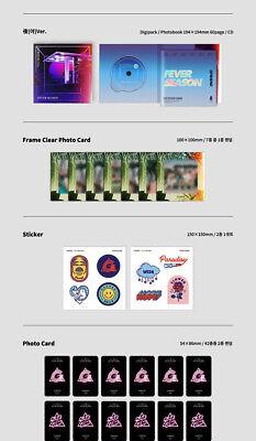 GFRIEND FEVER SEASON 7th Mini Album CD+POSTER+Book+3Card+2Sticker+Pre-Order+GIFT 8