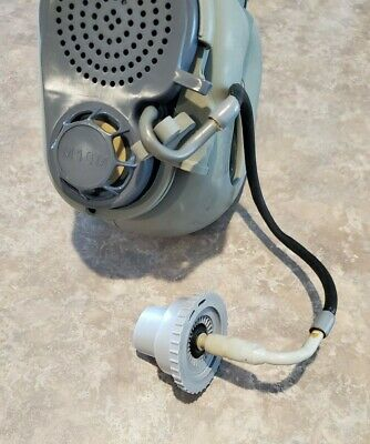 Military Czech Gas Mask M10M With Hydration Straw Filters Emergency Survival NBC 7