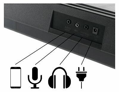 Tastiera Musicale Elettronica 61 Tasti 255 Suoni con Supporto Sgabello Cuffie 5