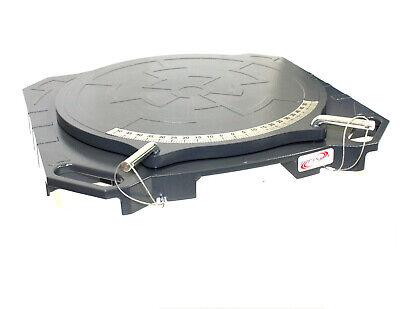 One Pair Aluminum Turntable Wheel Alignment 360° Rotating Turn Plate Table 4 Ton 2