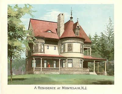Montclair, N. J.   -  Scientific American Architects and Builders Edition - 1892 2
