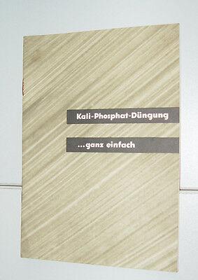 Kali - Phosphat Düngung ... ganz einfach