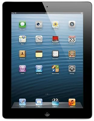 "Apple iPad 4 - 4th Generation 9.7"" with Retina Display 16GB, 32GB, 64GB WIFI 3"