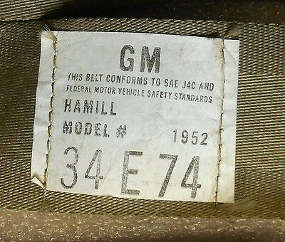 1974-1992 Camaro Seat Belt Shoulder Guide Escutcheon On Seat RH Tan GM 20552357