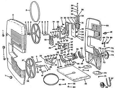 vintage sears craftsman 12 band saw sander upper driven wheel Abrasive Saw vintage sears craftsman 12 band saw sander upper driven wheel bearing