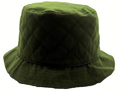 3802d8c7690c6 ... Wax Bush Hat Bucket Waterproof Shower proof Rain Country Mens Ladies  Womens 2