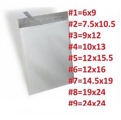 50 #8 19X24 Poly Mailer Self Sealing Shipping Envelopes Waterproof Mail Bags 2.0