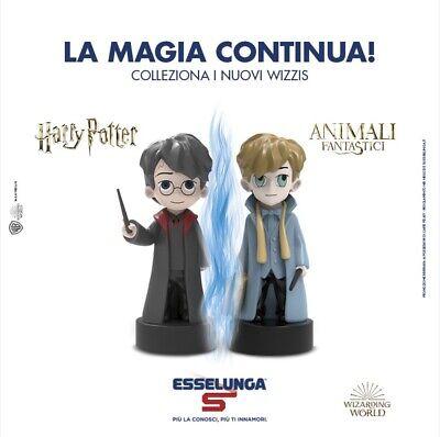WIZZIS Harry Potter - Animali Fantastici - collezione Esselunga 2019 pupazzetti 2