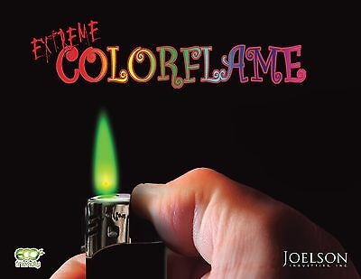 Color Flame Fire Butane Colorflame Colorful Torch Lighter Green Flame Purple Gem 3