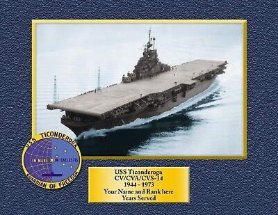 USS TRIPOLI LPH 10 Custom Personalized Print of US Navy Gift Idea 9