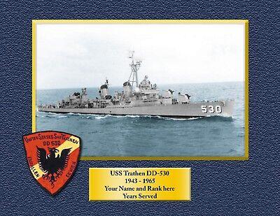 USS TRIPOLI LPH 10 Custom Personalized Print of US Navy Gift Idea 3