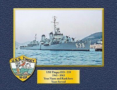 USS TRIPOLI LPH 10 Custom Personalized Print of US Navy Gift Idea 8