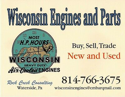 Wisconsin Engine Gasket Set Q8 for AFH, AGH, AHH      READ AD! 2