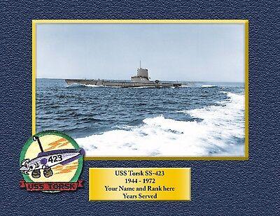 USS TRIPOLI LPH 10 Custom Personalized Print of US Navy Gift Idea 6