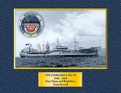 U.S NAVY W// ANCHOR* SHIRT USS MAUNA KEA  AE-22* AMMUNITION SHIP